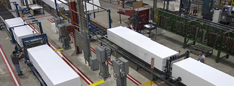 Expanded Polystyrene Industries Served by Forte EPS Solution ON - EPS for Manufacturing