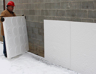 Eps Foam Insulation Geofoam Flotation Billet