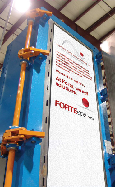 Forte EPS Solutions' Services - Custom EPS Laminating